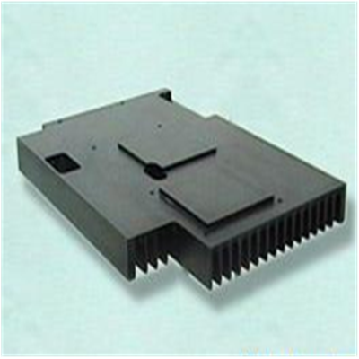 AL heat sink with black anodizing